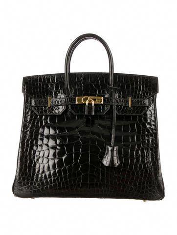 Hermès Shiny Alligator Birkin 32  Hermeshandbags Hermes Handbags c80598db87237