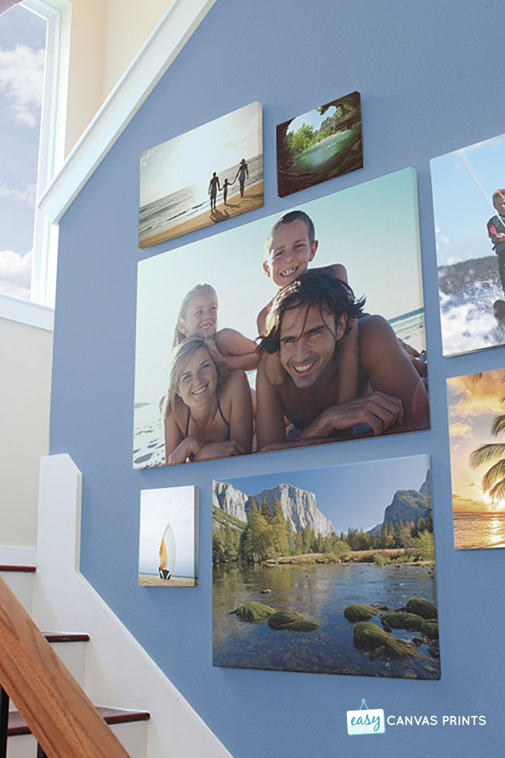Make lasting memories with custom canvas prints! Upload your image, select your canvas and ship to make moments last a lifetime. Save up to 65% off retail prices!