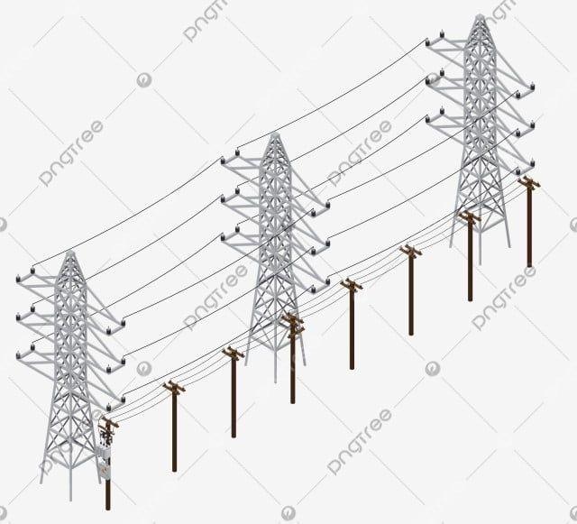 شبكة الكهرباء شبكة الكهرباء برج كهربائي برج الحديد Png والمتجهات للتحميل مجانا Power Grid Utility Pole Pole