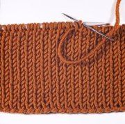 Knitting Tip - Casting off - Italian Fashion - gives a very elastic cast off - suitable for necklines etc