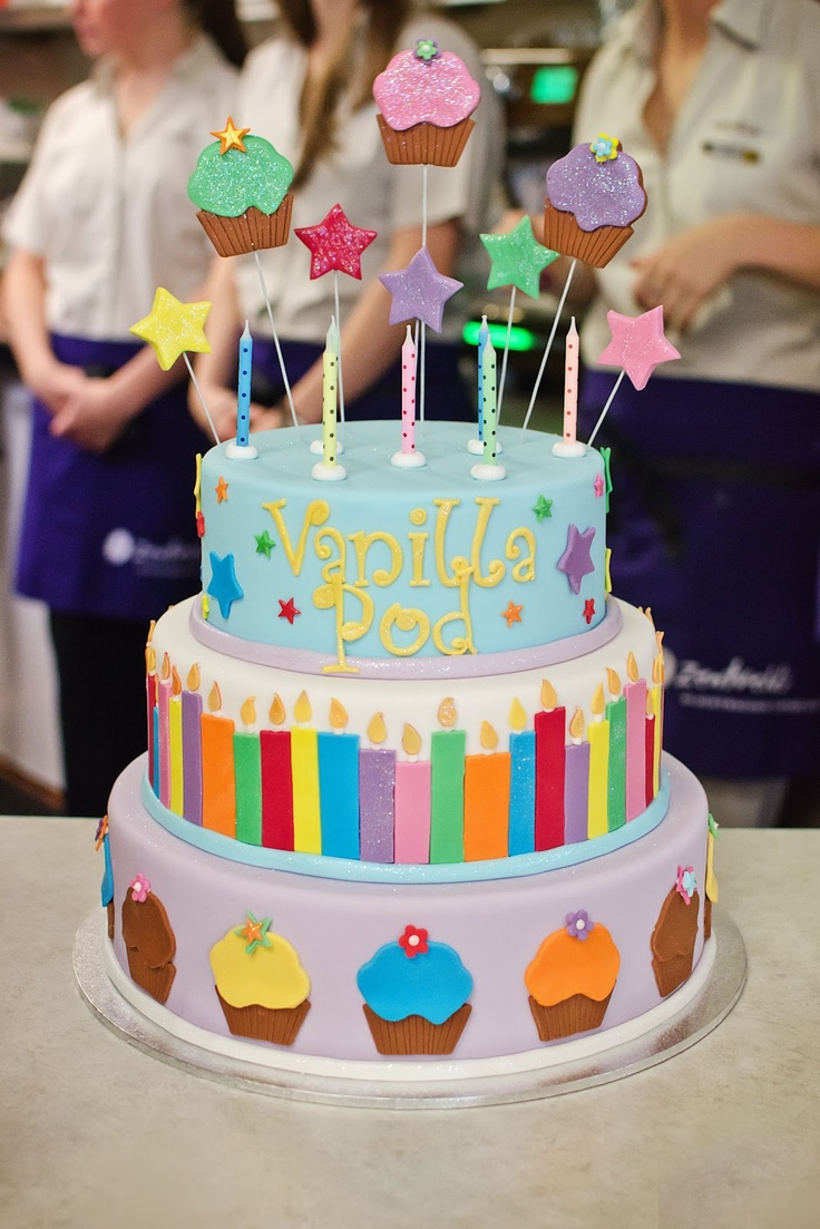 ... Cakes - Kids on Pinterest | Birthday cakes, Flip flop cakes and