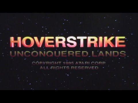 Hover Strike Unconquered Lands- Atari Jaguar CD