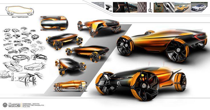 Volkswagen WIDE Concept VW Talento Design 2015 on Behance