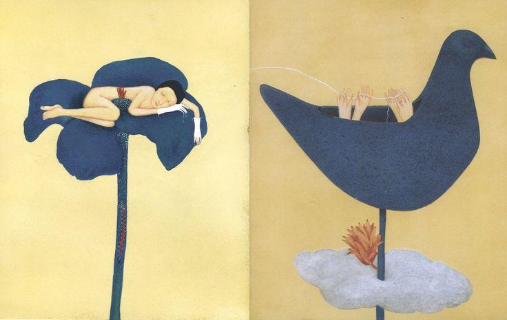 """Alicia Baladan illustration for """"Una Storia Guarani""""."""
