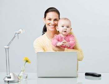 a happy mother makes a happy child beindependent with transcontent by doing workfromhome stay at home momhappy mothersbusiness ideasearn
