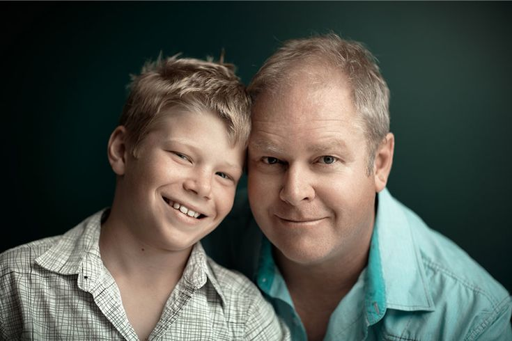 ben + mike; father and son