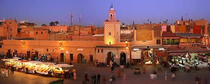Morocco - Marrakech - Jemaa el-fna