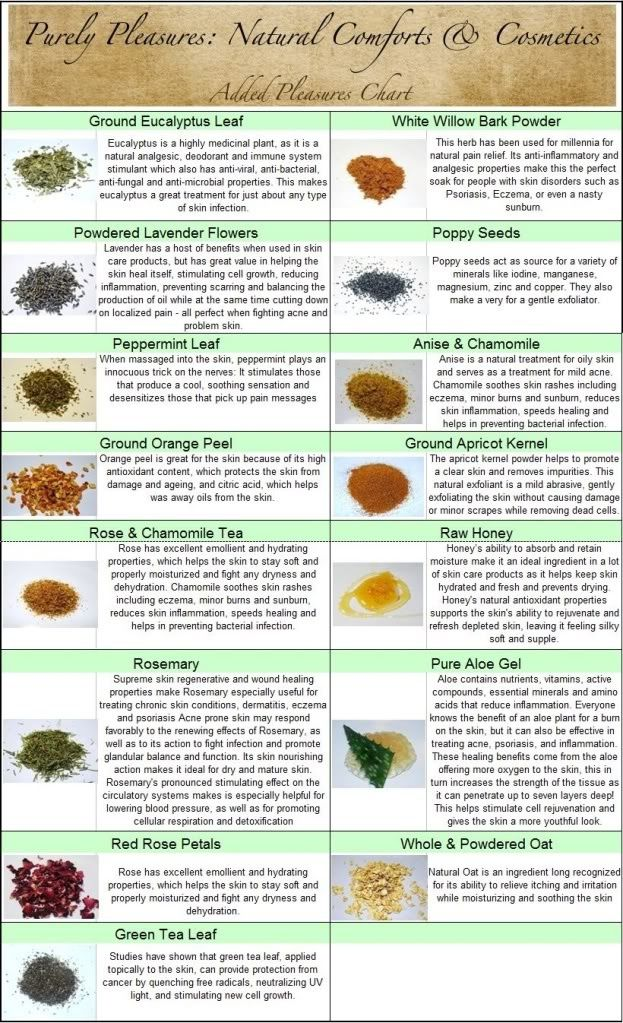 Natural Cosmetics Ingredients Birthday Suit Pinterest