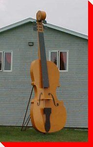 Fiddle - Cavendish, Prince Edward Island