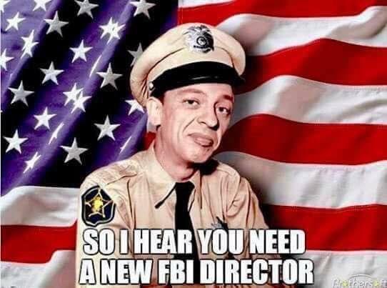 After the firing of FBI Director James Comey