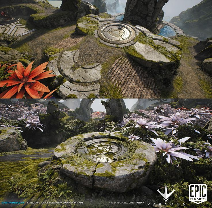 ArtStation - Paragon Hard Surface Environment Assets, Scott Homer