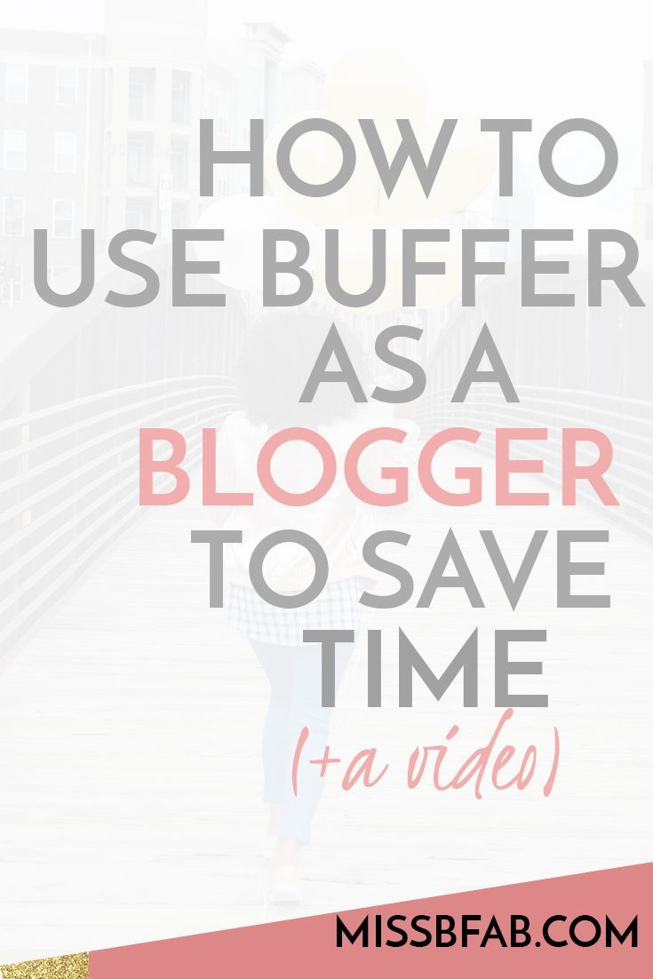After chatting with the team over at buffer, I learned about an amazing feature they have. As a blogger and someone who is posting content daily, you want an easy system to do so. So check out this time saving way to use buffer to share your content withi