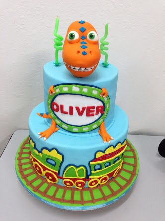 dinosaur train cake - Google Search