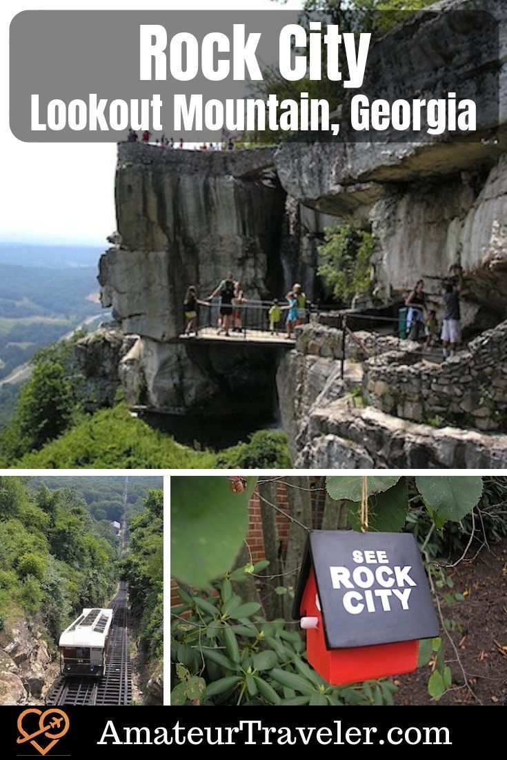 Rock City And More Lookout Mountain Georgia Georgia Vacation Rock City Chattanooga Lookout Mountain
