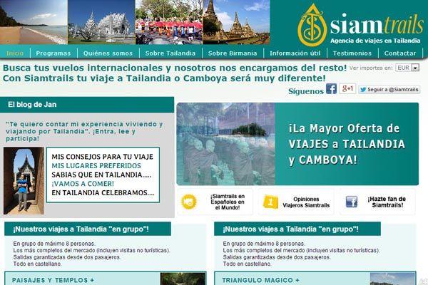 Servicio de posicionamiento web y campañas de AdWords en una agencia especializada en viajar a Tailandia >> www.siamtrails.com #SEO #SEM #AdWords