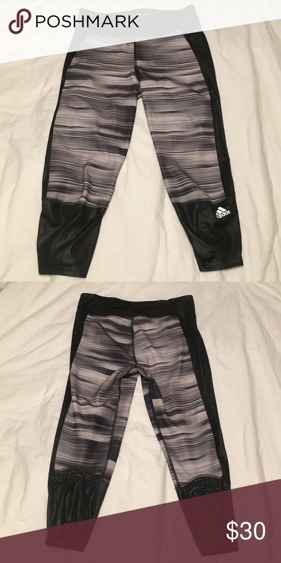 Adidas Supernova Small Black Running Capri Adidas stylish running capri. Like new and worn twice. Adidas Pants Track Pants & Joggers