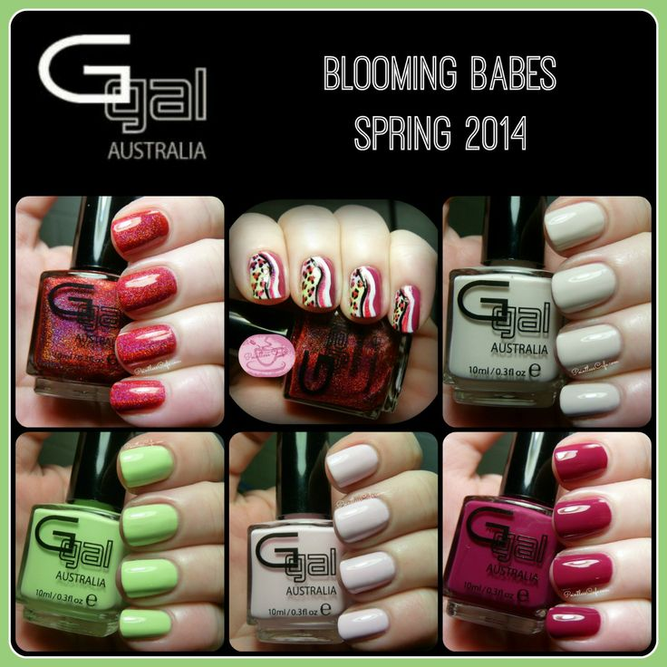 Glitter Gal: Blooming Babes Collection - Spring 2014 | Pointless Cafe