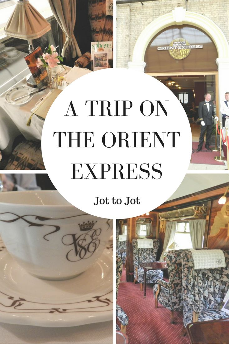 A luxury trip on the Orient Express