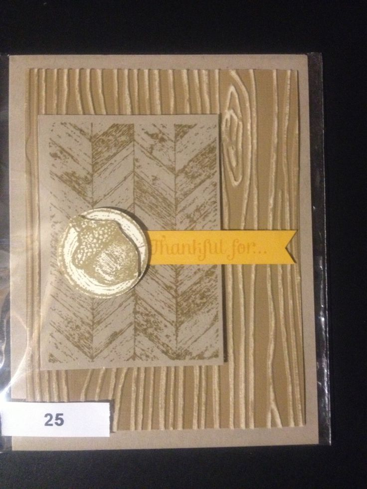 Quot truly grateful quot on pinterest stampin up stamps and fall cards