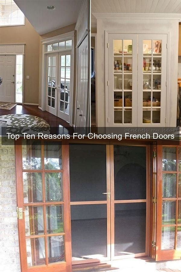 Oak Interior Doors Small Pantry Door 10 Lite French Doors Interior In 2020 French Doors French Doors Interior French Living Room Design