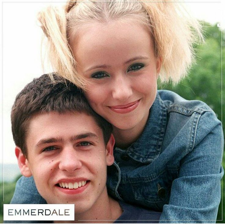 Kelvin Fletcher and Sammy Winward
