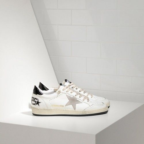 Cheap lebanon Golden Goose Ball Star Sneakers In Leather With Suede Star Sale