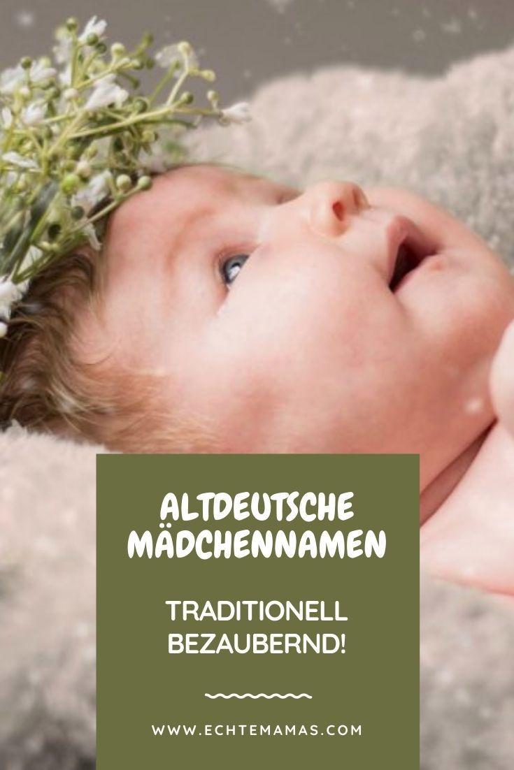 Altdeutsche Mädchennamen - traditionell bezaubernd! 🇩🇪