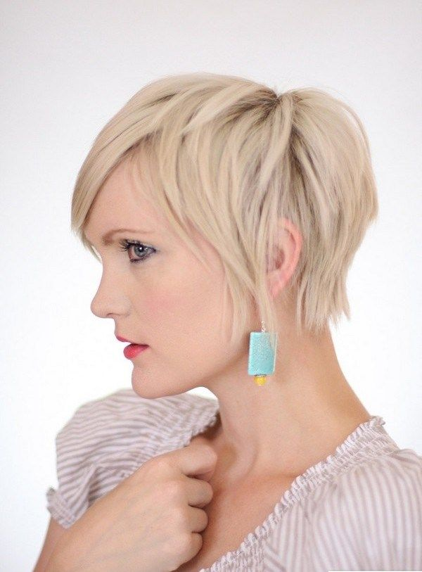 pixie haircut for blonde