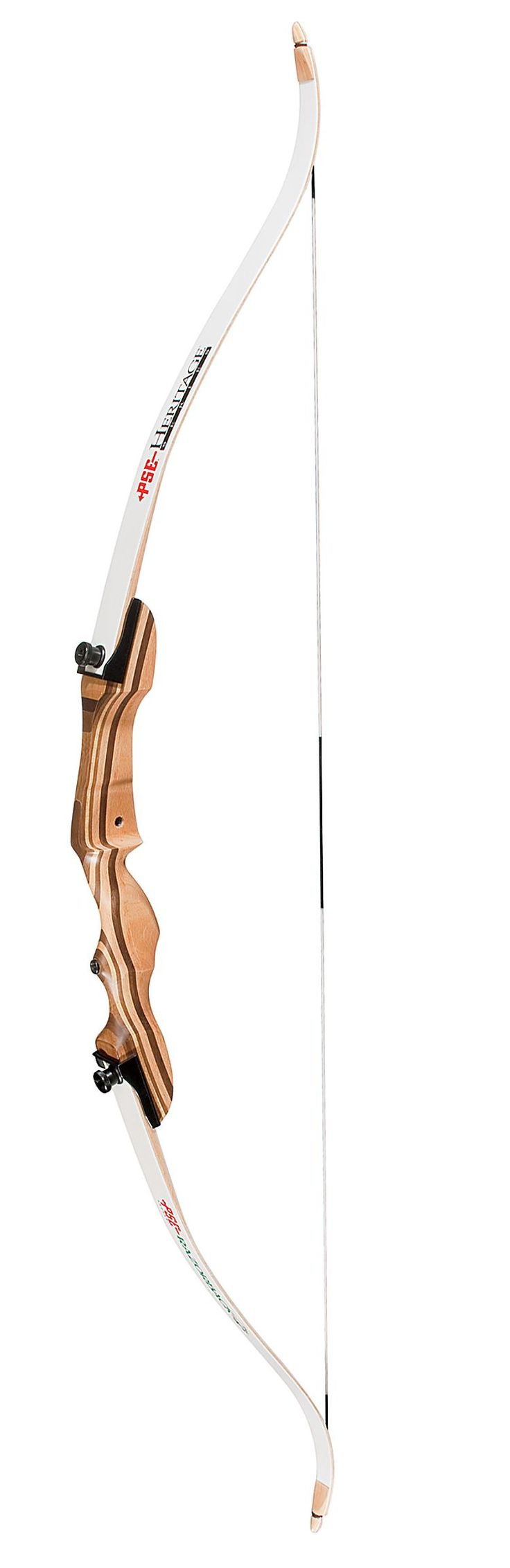 "PSE Archery Razorback Recurve Bow | Bass Pro Shops -- My Specific Measurements: 62"" length, 25 lb. draw, Right-handed, 28"" arrows"