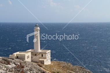 Lighthouse on Adriatic Sea