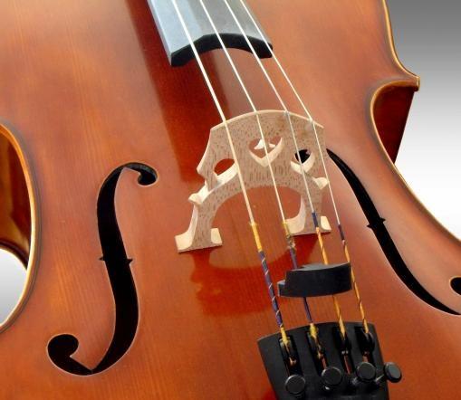Cello music.