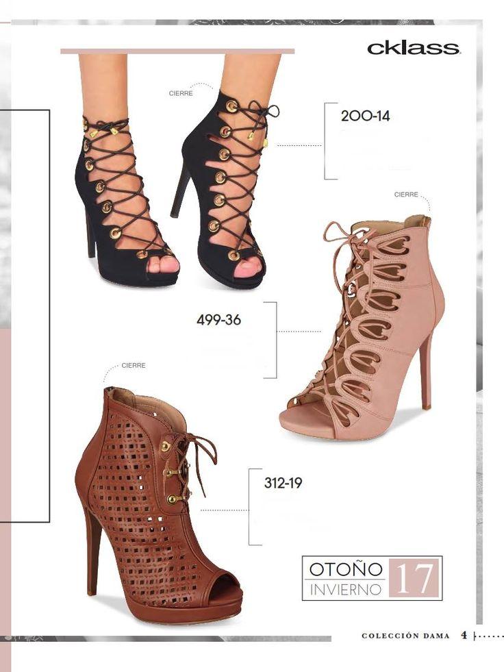 Zapatos Cklass para Mujer OI 2017. Elegante calzado con agujetas para esta temporada
