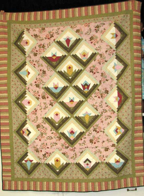 Sister Mary's Garden Quilt - Quilt by Janice Jackson