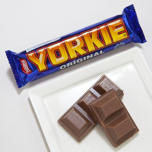 Yorkie Chocolate Bar Cake