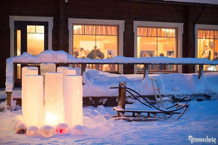 A fairytale wedding in the Arctic – Jaana and Tuomas