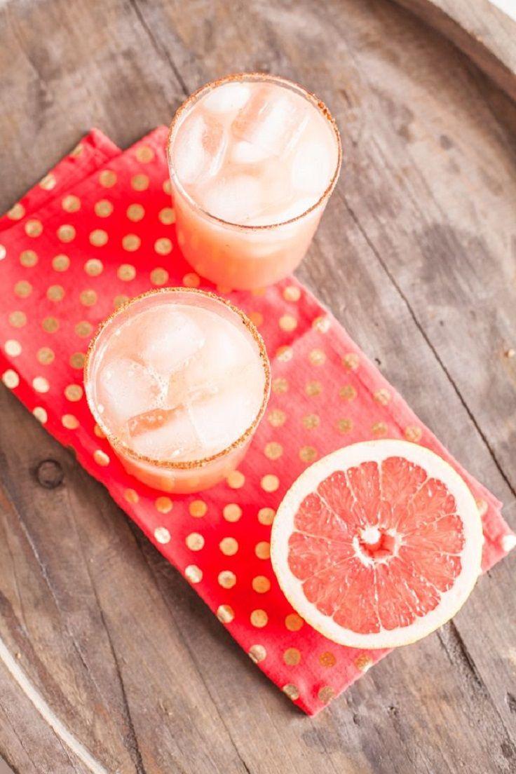 Spicy Grapefruit Margarita #Cocktail 15 Love #Cocktails For #Valentine ...