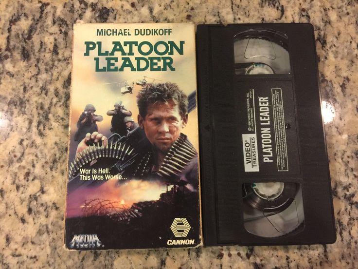 Platoon Leader Michael Dudikoff Dvd