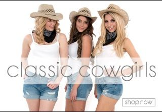 Classic Cowgirls fancy dress themes, hen party themes, hen party fancy dress ideas,