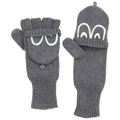 Stella McCartney Kids - Dark grey mittens - 52208