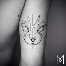 Image result for lion tattoo minimal