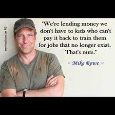 True DAT, Dirty Jobs Guy!