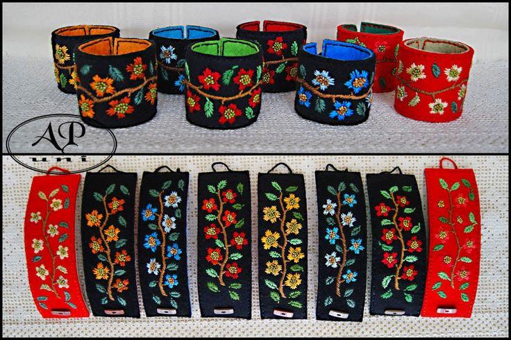 apuni - moje hobby - rękodzieło: Bransoletek haftowanych ciąg dalszy