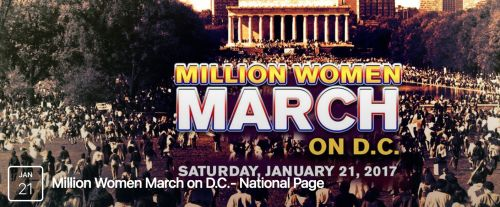On January 21, 2017 in Washington D.C., a demonstration that aims to bring a million women and feminists to the nation's capital will formally protest Donald Trump's inauguration as commander-in-chief @ http://nytlive.nytimes.com/womenintheworld/2016/11/11/million-women-march-being-planned-for-january-21-2017-in-d-c/