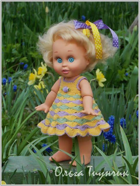 Алины игрушки: Майское платье для куклы baby face