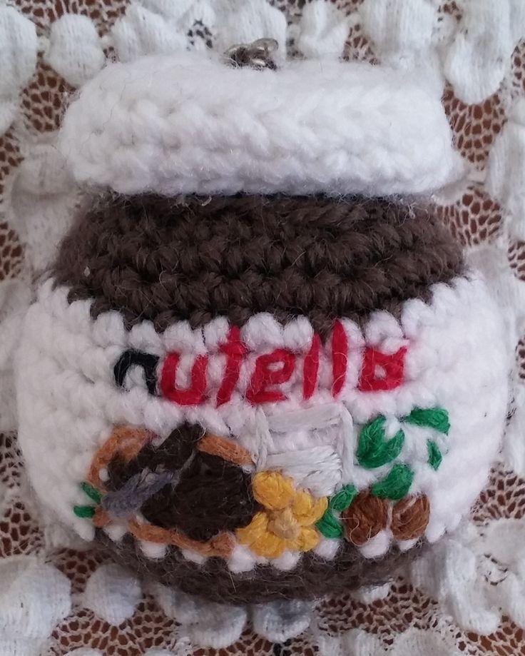 Barattolo di Nutella. Amigurumi. Uncinetto. Crochet.