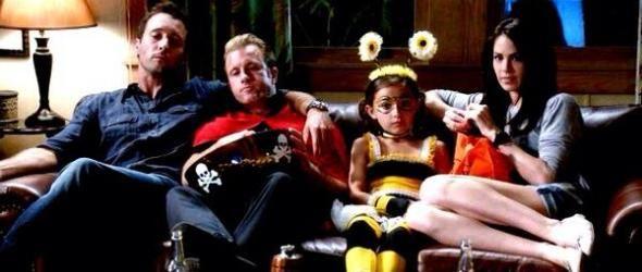 Steve, Danno, Grace & Katherine - Hawaii Five-0