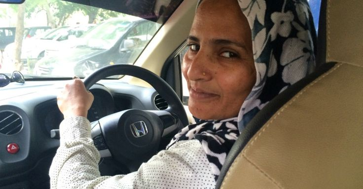 There's growing number of spirited women cab drivers in India, thanks to women-only cab services and new employment initiatives by companies like Uber and Ola Cabs.