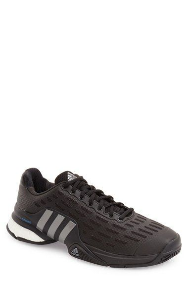 adidas Barricade 2016 Boost Tennis Shoe (Men) - mens platform shoes, big mens shoes, online shopping shoes for mens