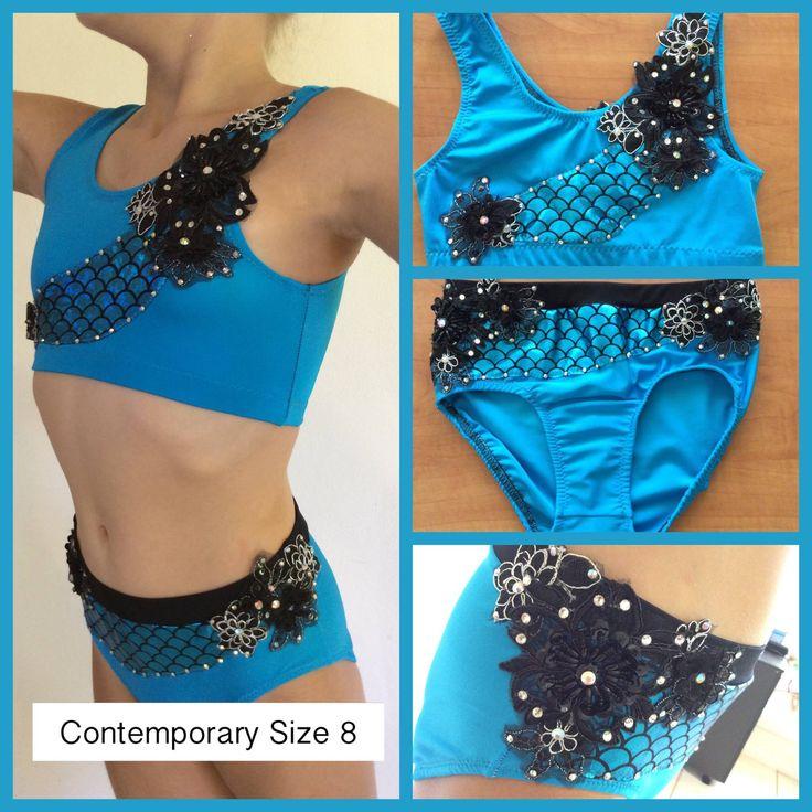 Turquoise Contemporary by Babushka Dance Designs