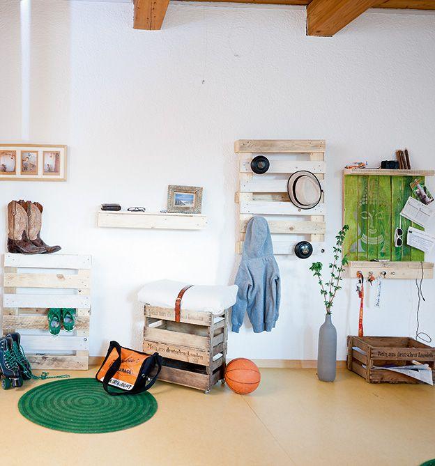Alles Paletti - DIY mit Holzpaletten